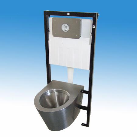 Keretes WC modul, érintésmentes öblítés indítás